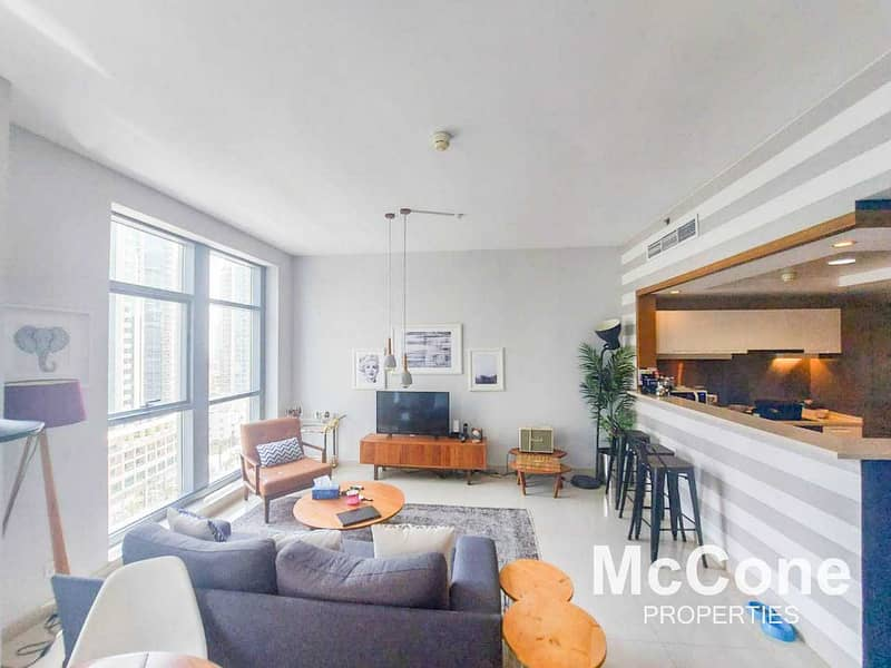 2 Fully Furnished | Partial Fountain and Blvd Views