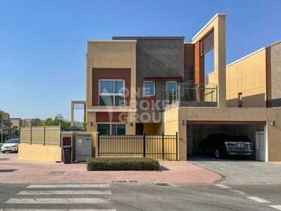 فیلا 4 غرف نوم للبيع في مجمع دبي للعلوم، دبي - Corner Plot | Single Row |4D4|On The Tennis Court
