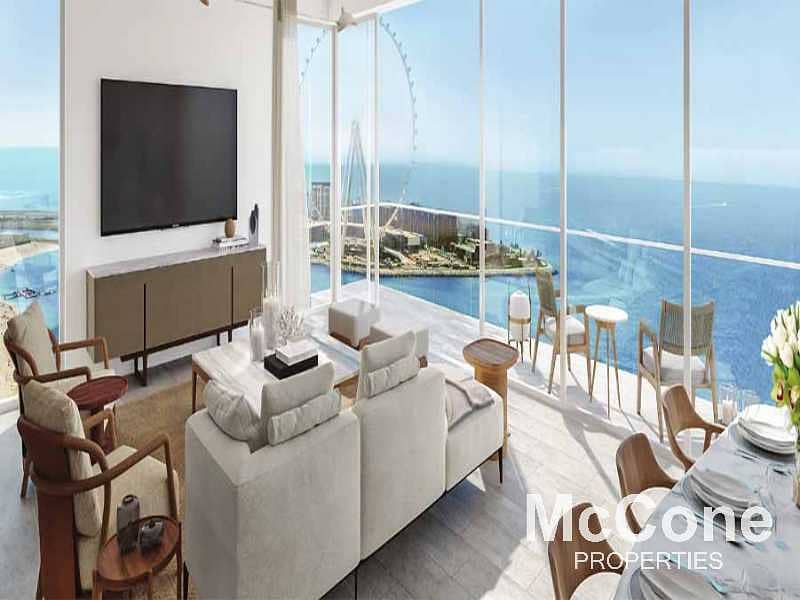 13 Genuine Resale | Sea and Palm View | High Floor