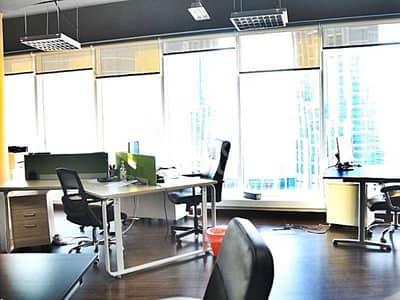 مکتب  للبيع في المنارة، دبي - Rented Fitted Office| Kitchen and Private bathroom