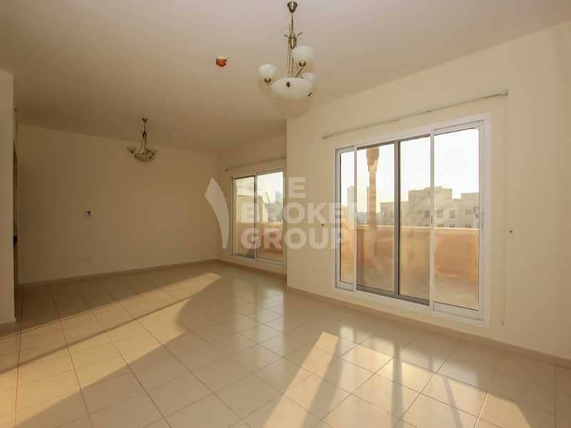 2 Largest 2 Beds with Amazing Huge Terrace