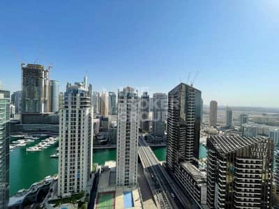2 Bedroom Apartment for Rent in Jumeirah Beach Residence (JBR), Dubai - Marina view I 2BR Unfurnished I Currently Vacant