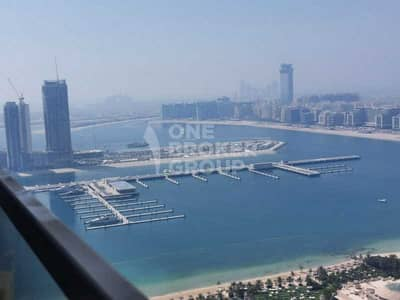 شقة 3 غرف نوم للايجار في دبي مارينا، دبي - Ocean View   Upgraded   Bright   Spacious