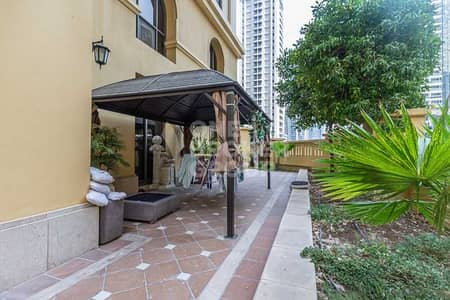 4 Bedroom Apartment for Sale in Jumeirah Beach Residence (JBR), Dubai - Unique property, 4+M Duplex with garden.