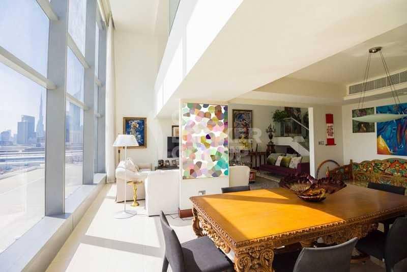 2 Luxury Lifestyle! Exclusive 3+m Duplex .