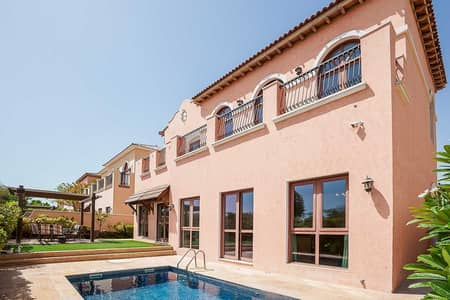 4 Bedroom Villa for Sale in Jumeirah Golf Estates, Dubai - Exclusive! | Vacant On Transfer | Golf View Pool