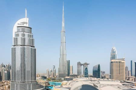 2 Bedroom Flat for Sale in Downtown Dubai, Dubai - 2-Bedroom in High-Rise with Undisturbed Burj Khalifa Views