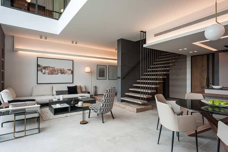 Luxury duplex penthouse - 3 bedroom + maids