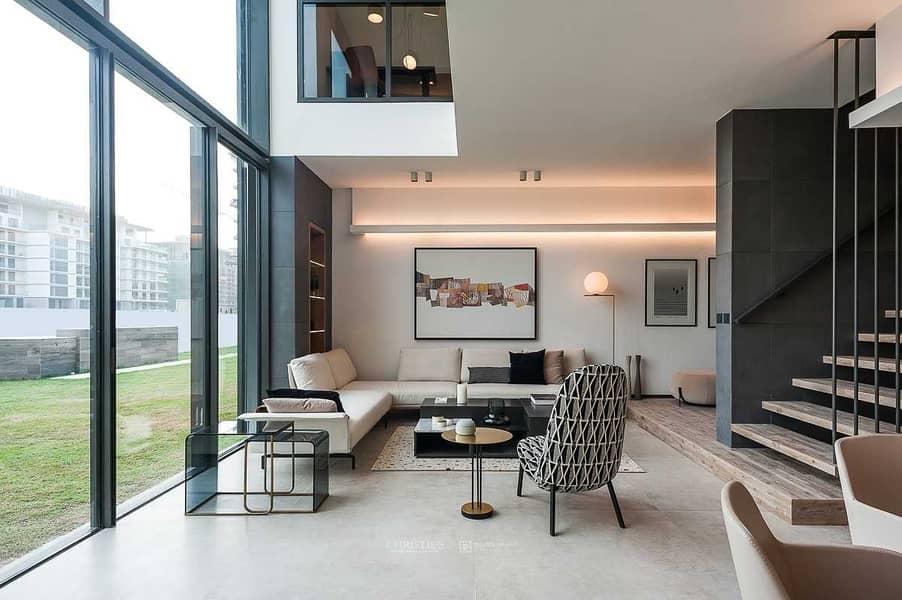 2 Luxury duplex penthouse - 3 bedroom + maids