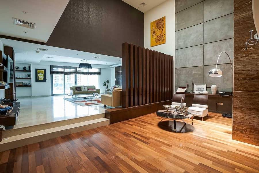 2 4 Bed Duplex Villa | Private Pool and Marina View