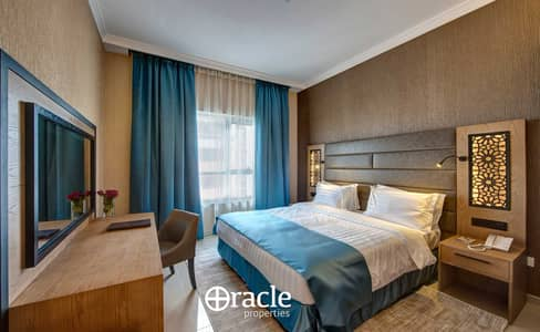 2 Bedroom Hotel Apartment for Rent in Barsha Heights (Tecom), Dubai - bed room