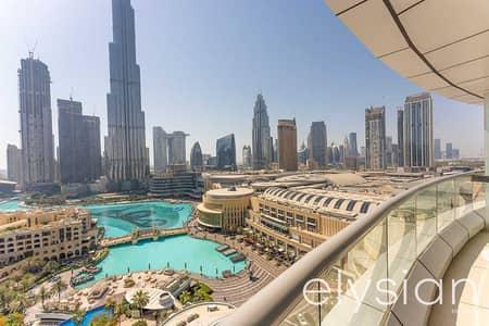 فلیٹ 1 غرفة نوم للبيع في وسط مدينة دبي، دبي - Stunning View | 1 Bed |The Address Downtown
