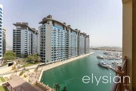 شقة في مساكن مارينا 1 مساكن المارينا نخلة جميرا 2 غرف 135000 درهم - 5250067
