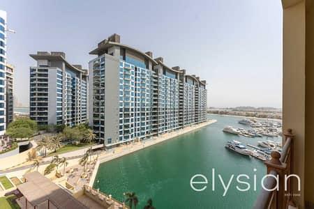 فلیٹ 2 غرفة نوم للايجار في نخلة جميرا، دبي - Stunning  2 Bedroom   Sea and Marina View