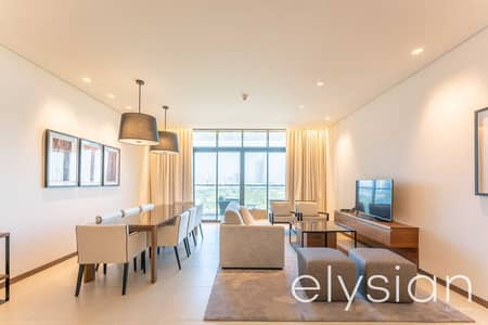 2 Bedroom Apartment for Sale in The Hills, Dubai - Furnished 2BR II Elegant Golf Course living