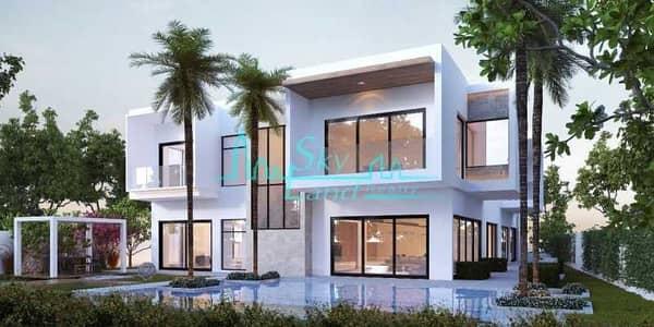 6 Bedroom Villa for Sale in Al Barari, Dubai - Al Barari|6-BR Contemporary Mansion|The Reserve|French Design
