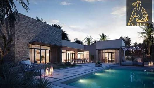 4 Bedroom Villa for Sale in Al Jurf, Abu Dhabi - Luxury 4BR Villa By The Beach Flexible Installments Smart Layout