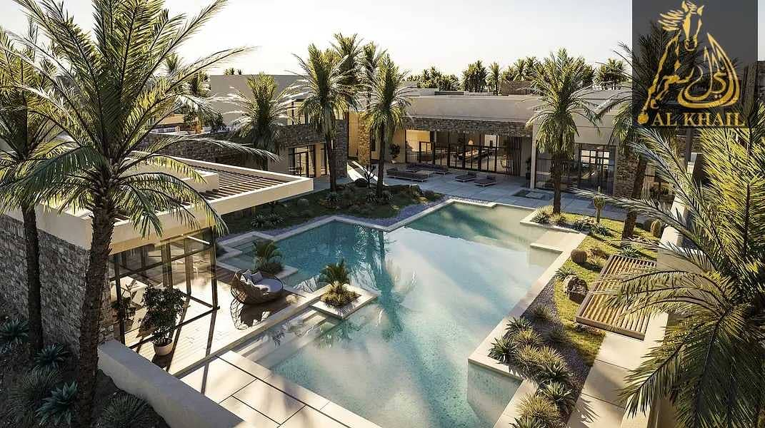 2 Luxury 4BR Villa By The Beach Flexible Installments Smart Layout
