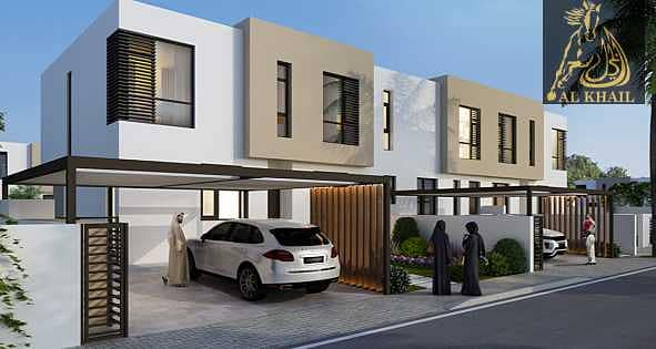 22 OWN YOUR DREAM TOWN HOUSE 3 BR IN SHARJAH