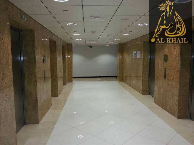 2 Splendid Fully Fitted Office for sale in Gold Tower Best Location Stunning View