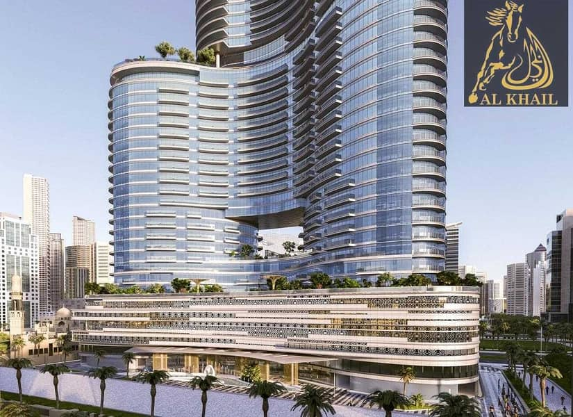 Canal View Luxury 1BR in Downtown Dubai 3 Years PHPP