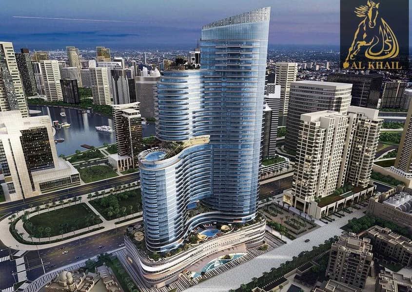 14 Canal View Luxury 1BR in Downtown Dubai 3 Years PHPP