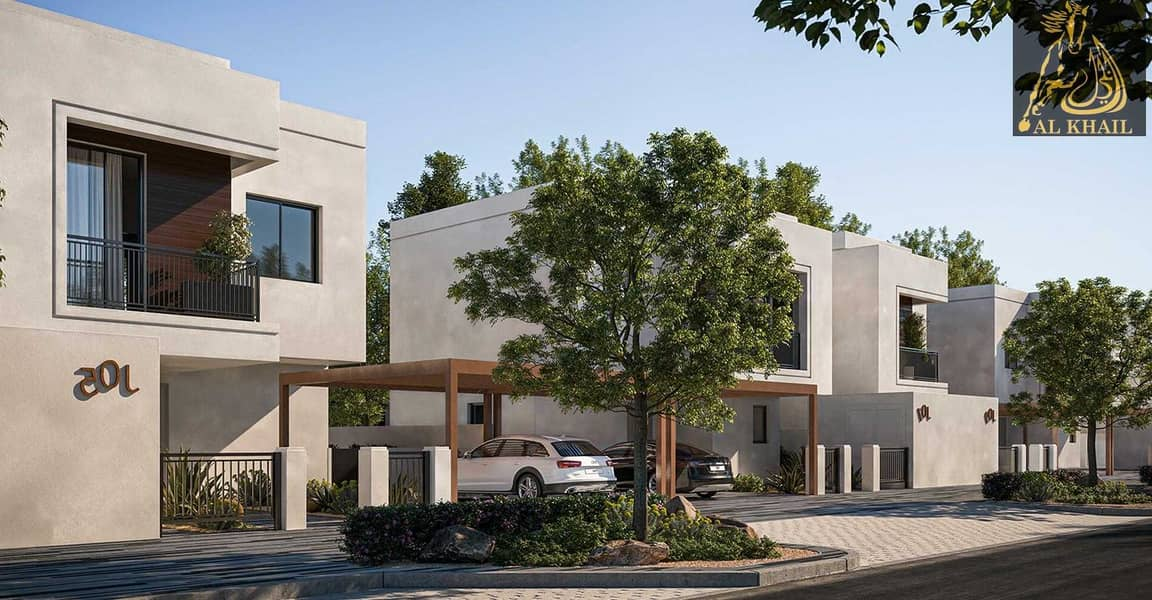 Modern Design 5BR Standalone Villa with 5% Booking in Yas Island