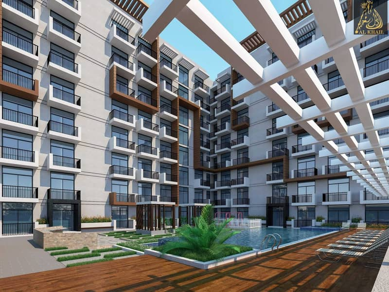Offer 5 Years Post Handover Affordable 1BR in Arjan