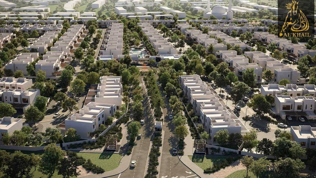 15 Modern Design 5BR Standalone Villa with 5% Booking in Yas Island