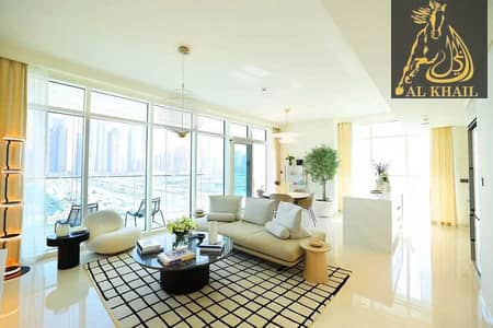 3 Bedroom Villa for Sale in Dubai Harbour, Dubai - Own Stylish 3BR Villa in Beachfront 2 Years Payment Plan