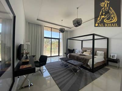 5 Bedroom Villa for Sale in DAMAC Hills (Akoya by DAMAC), Dubai - PARKLAND AND GREEN OUTDOORS 5 BEDS VILLA