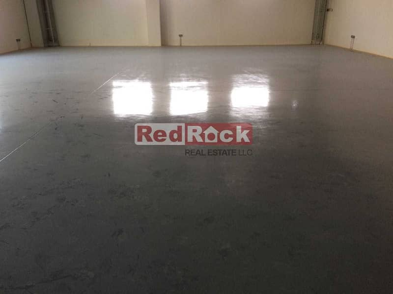2 Fully Air Conditioned 6170 Sqft Warehouse in Nad Al Hamar