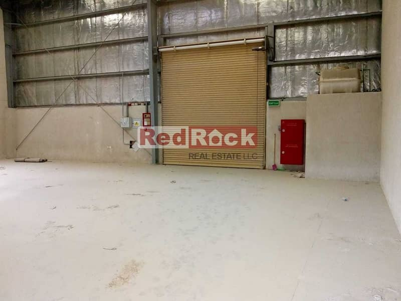 9 We Mean It Aed 46K/Yr 30 Days Free for 2324 Sqft Warehouse in Jebel Ali