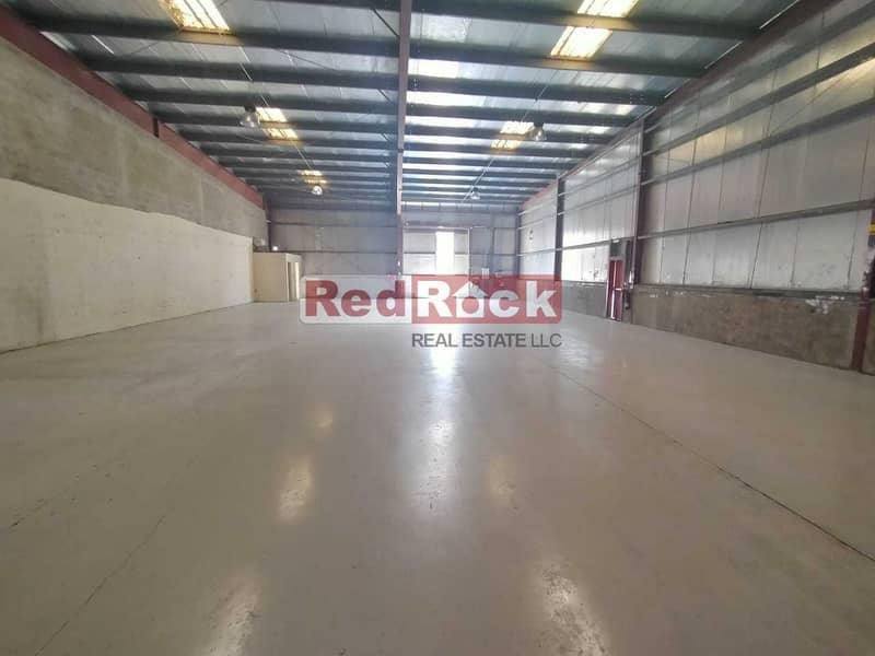 Commercial Warehouse of 4200 Sqft @ 18/Sqft in DIP