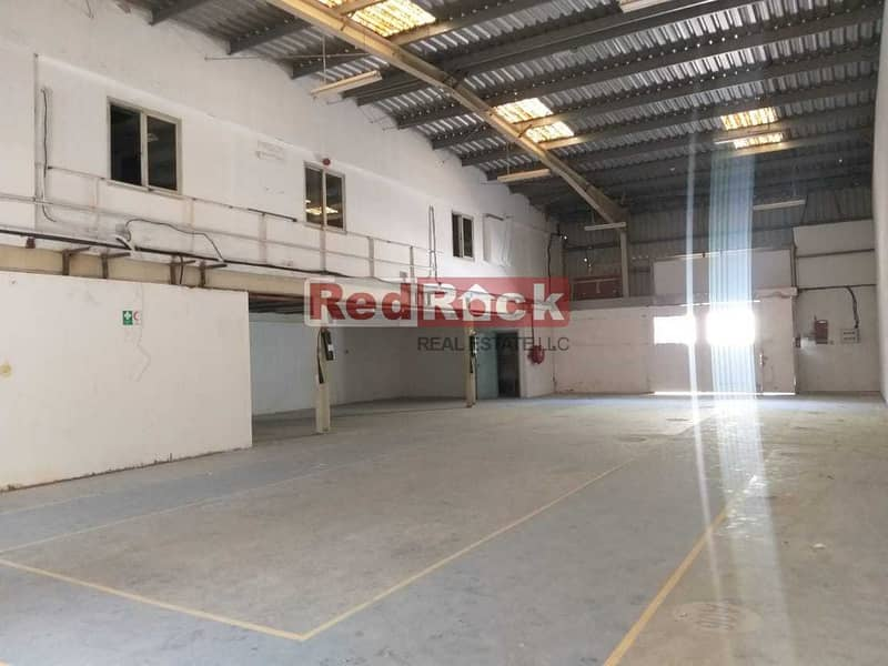 Clean 4900 Sqft Warehouse with Office In Umm Ramool