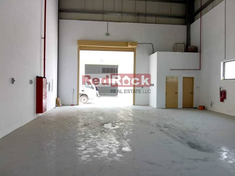 New 1562 Sqft Commercial Warehouse with 35 KW Power in Jebel Ali