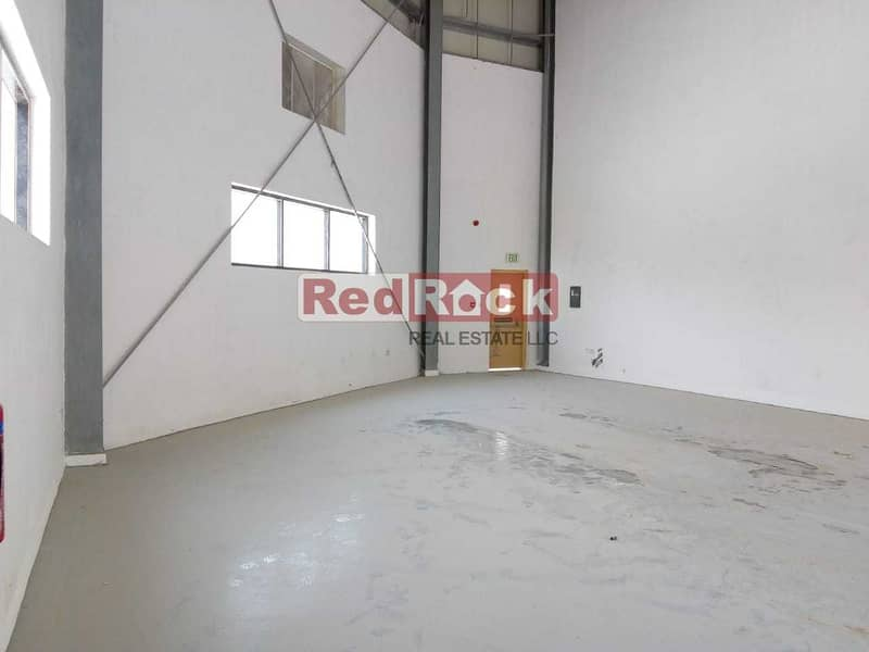 2 New 1562 Sqft Commercial Warehouse with 35 KW Power in Jebel Ali