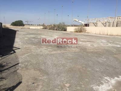 ارض تجارية  للايجار في جبل علي، دبي - 5000 sqft Open Land for Storage in Jebel Ali