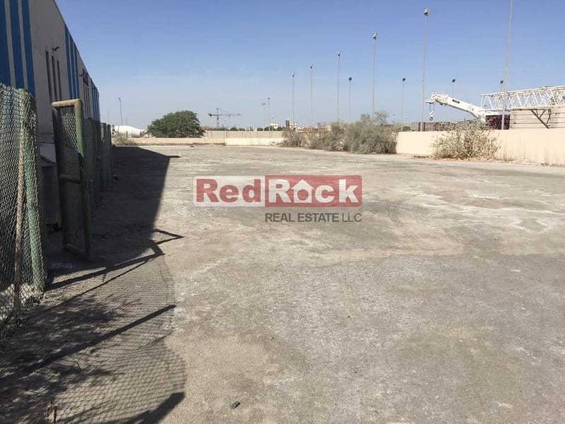 2 5000 sqft Open Land for Storage in Jebel Ali
