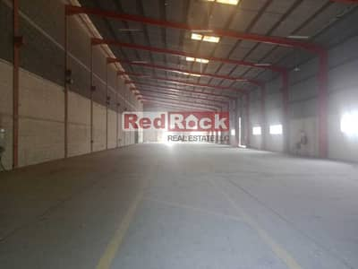 Warehouse for Rent in Al Quoz, Dubai - 12M height  Warehouse Ideal for Indoor Sports in Al Quoz