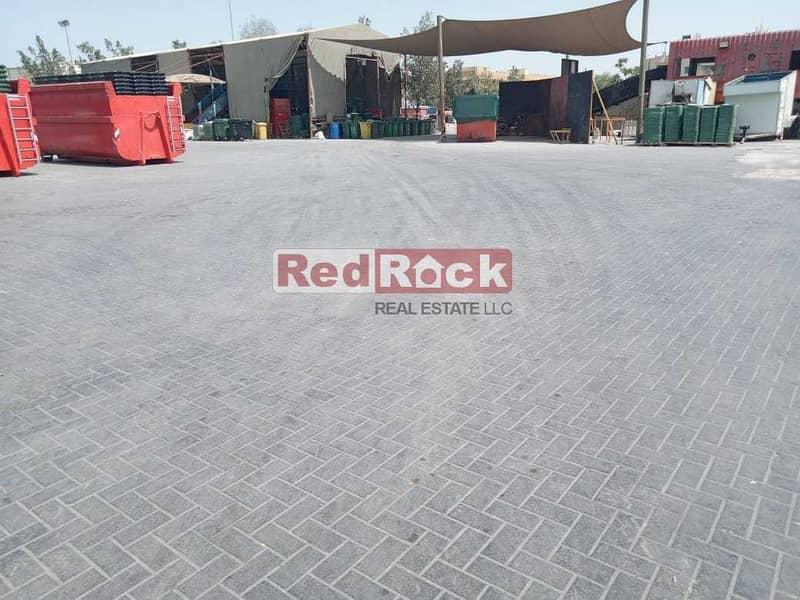 5 For Lease 85000 Sqft Interlocked Open land in Al Quoz