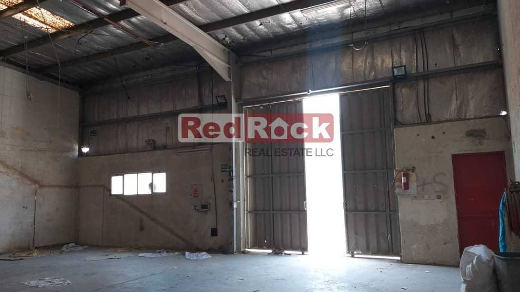 2 Warehouse of 2750 Sqft  Suitable for Garage in Ras Al Khor