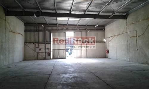 مستودع  للايجار في أم رمول، دبي - Well Maintained 3500 Sqft Warehouse in Umm Ramool