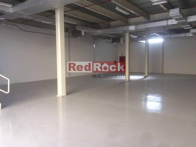 2 Centralized AC Warehouse Of 6500 Sqft in Nad Al Hamar