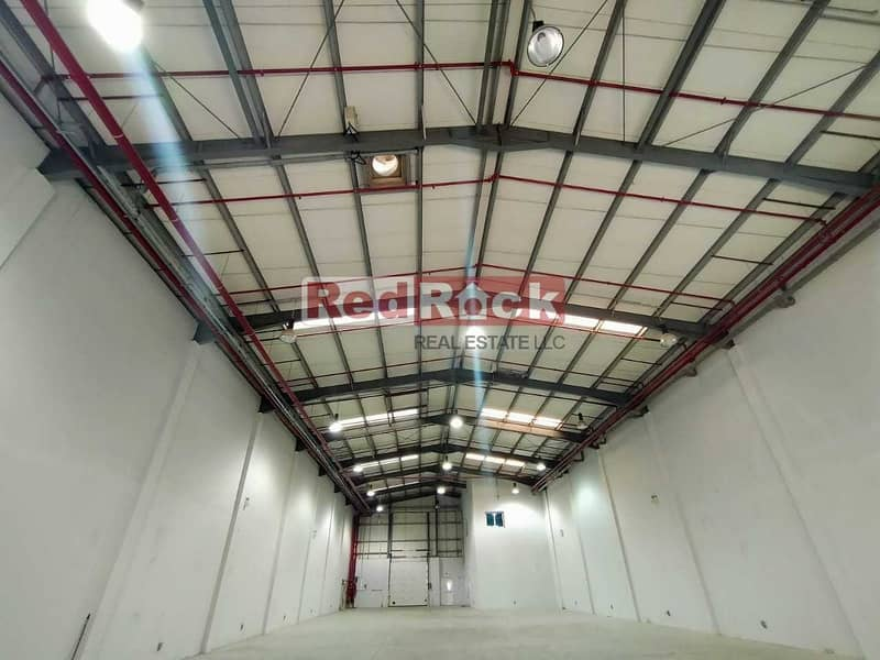 8798 Sqft Warehouse with 50 KW Power and Office in Jebel Ali