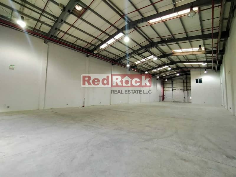 13 8798 Sqft Warehouse with 50 KW Power and Office in Jebel Ali