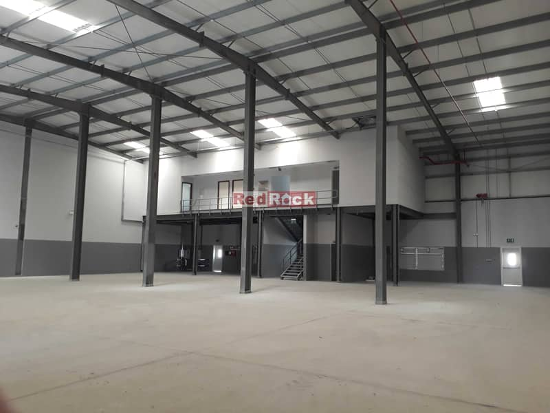 9844 Sqft Warehouse with 80 KW Power and Office in Jebel Ali