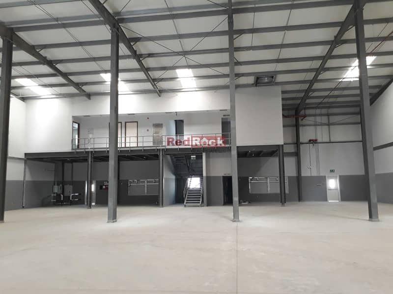 2 9844 Sqft Warehouse with 80 KW Power and Office in Jebel Ali
