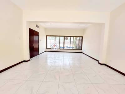 فیلا 3 غرف نوم للايجار في القرهود، دبي - Semi Independent 3 BR Villa Private Garden @ Rent 110k