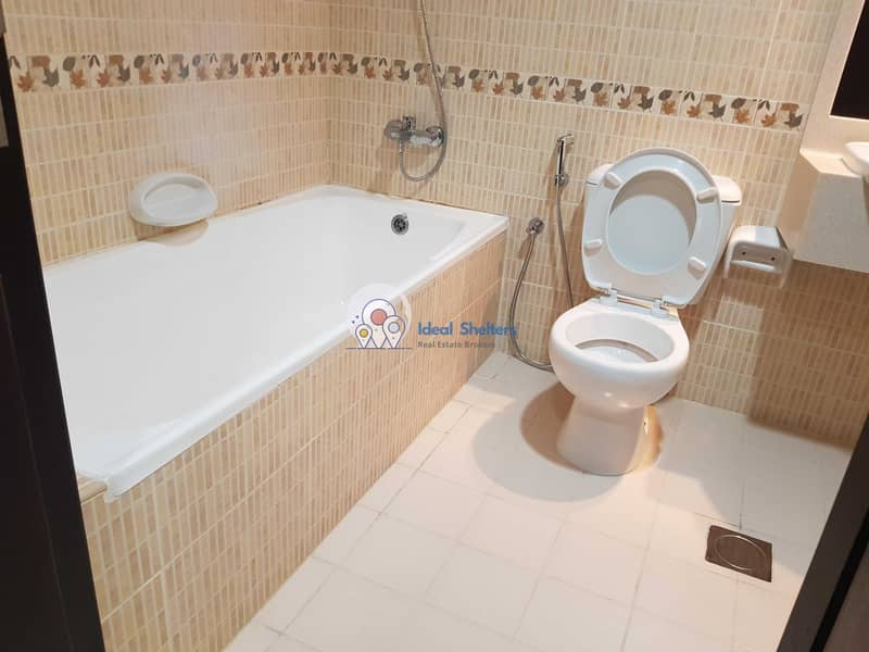12 CHILLER FREE_2 BHK WITH MAID ROOM_4  BATH+ALL FACILITIES 58K